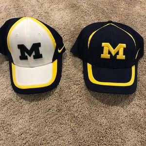 2 Nike Michigan hats
